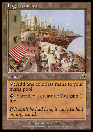 High Market. (c) 2013 Wizards of the Coast.