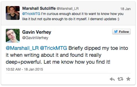 Gavin Verhey's Response