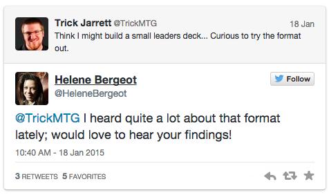 Helene Bergeot's Twitter Response to Trick Jarrett
