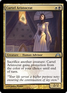 She was part of the cartel driving up the price of Orzhov staples.