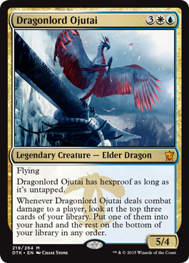 It's a bird...it's a planeswalker...it's Ojutai!